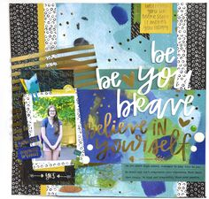 Bella Blvd | Make Your Mark Collection | Layout by Amy Heller