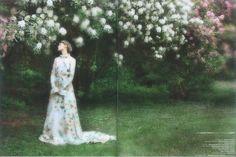 Delphine Manivet by David Hamilton - Soon Magazine