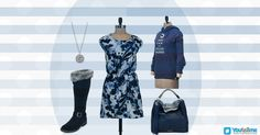 Try out this look #Fashion #WinterWear #WinterJackets #HandBags #WinterShoes #WinterBoots #Pendants #Gowns