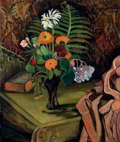 Suzanne Valadon (French, 1865-1938), Nature morte aux fleurs, 1920. Oil on canvas, 65.1 x 54.5cm.