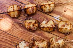 Grilled Potato Bacon Kebabs