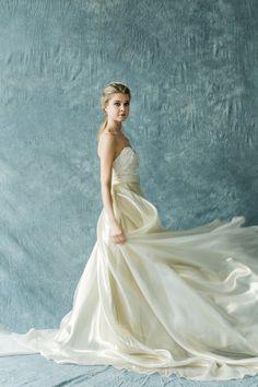 Goddess Silk - Modern and Elegant Two-Piece Wedding Dresses - Photos