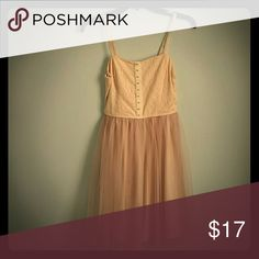 Prom dress Beautiful but who designed prom dress  Slightly ruffles out at the bottom only worn one time for one night prom trading is always available on my closet Dresses Midi
