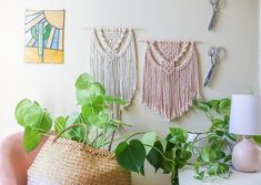 August Virtual Workshops are live on our site!  ✨ 8.09 - Mindful Wall Macrame ✨ 8.23 - Macrame Plant Hangers ✨ 8.30 - Macrame Plant Hangers #2  Each class is Online + is Pay What You Can, to continue to provide accessibility during this quarantine period. Spots are limited, so make sure to reserve your spot!   (📸: @theaquariust)  #slownorth #theaquariust#makersgonnamake #workshops #calledtobecreative #madeintexas #atx #austinworkshops #workshops Macrame Plant Hangers, Tassel Garland, Mindful, Interior Ideas, Period, Bedroom Ideas, Master Bedroom, Workshop, Crafty