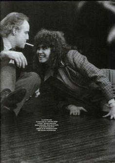 marlonbrandofanblog:  With Maria Schneider on the set of 'Last Tango In Paris'
