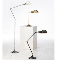 Search Results for libby-tall-desk-lamp Tall Desk, Office Essentials, Task Lighting, Polished Nickel, Desk Lamp, Floor Lamp, Man Cave, Home Goods, Home Improvement