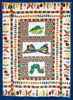 Red Rooster Quilts: Shop | Category: Patterns - Download for FREE | Product: The Very Hungry Caterpillar Downloadable Quilt Pattern