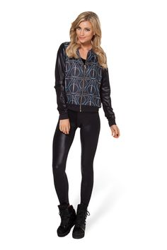 Deathly Hallows GF Bomber by Black Milk Clothing $110AUD