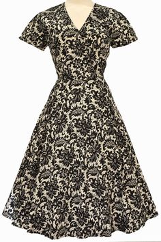 """The Autumn/Winter 2014 Collection of the """"Lady Vintage"""" Estella Dress - designed by..."""