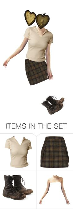 """""""matters of the heart."""" by del-the-grim ❤ liked on Polyvore featuring art"""
