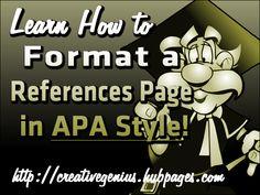 apa style essay format