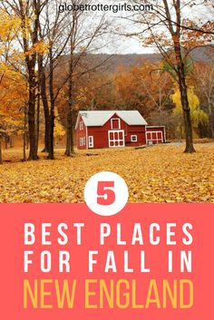 My dream trip for the fall? Visiting New England to see the fall colors. I have put together the best five spots to see the autumn colors in New England
