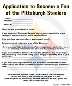 Steeler Application