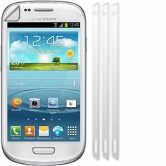 Screen Protector Guards For SamsungI8190 Galaxy S III S3 Mini / Pack of 3 * This is an Amazon Affiliate link. Click image for more details.