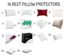 pillow protectors Pillow Protectors, Best Pillow, Pillow Covers, Sleep, Pillows, Bed, Shopping, Home, Pillow Case Dresses