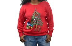 Check out this item in my Etsy shop https://www.etsy.com/listing/257433394/vintage-uglytacky-christmas-sweaterplus