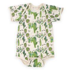 Lil Cacti Knit Onesie