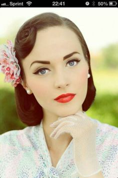 Makeup - 50's style