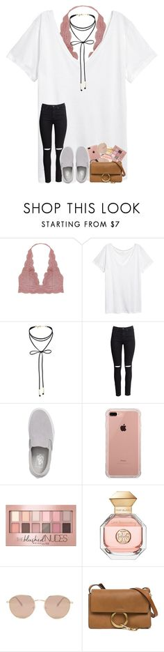 """going to spend the night with my bestie"" by s-henryy ❤ liked on Polyvore featuring Humble Chic, H&M, Miss Selfridge, Vans, Belkin, Maybelline, Tory Burch, Forever 21 and Chloé"