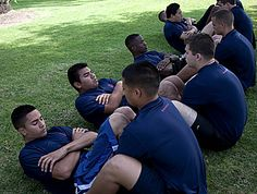 SO AWESOME!!! USMC Fitness Training... Includes Initial Strength Test (IST) training, Physical Fitness Test (PFT), and Combat Fitness Test (CFT) training... this will kick your butt!!!!