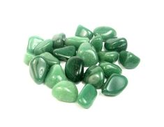 Your place to buy and sell all things handmade Green Adventurine, Witchcraft Supplies, Crystal Meanings, Tumbled Stones, Chakra Stones, Gems And Minerals, Heart Chakra, Plexus Products, Magick