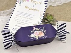 PRODUCT DESCRIPTION Awesome high quality 3D Invitation with candy shape. Personalised with your text - suitable for wedding, engagement party, baby shower or other events ★ Price includes: your text printed, all invitation components (4 pcs: cover, invitation, 2 cords), digital