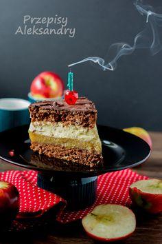Przepisy Aleksandry: CIASTO KILIMANDŻARO przepis ze zdjęciami krok po kroku Polish Recipes, Polish Food, Torte Cake, Food Cakes, Tiramisu, Food To Make, Cake Recipes, Cheesecake, Pudding