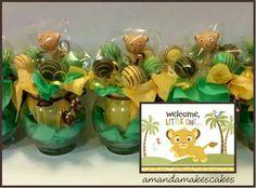 Baby Simba Cake Pops - Amanda Makes Cakes
