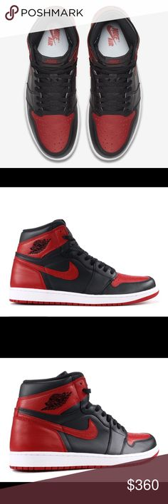 finest selection 2a601 07c02 Air Jordan 1 Banned 2016 Style  555088-001 Colorway  Black Varsity Red-White  Retail Price   160 Release Date  2016-09-03 Jordan Shoes Sneakers