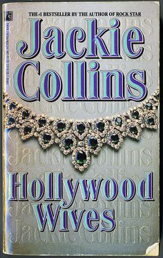 My copy was borrowed so many times , I had to tape the front cover to keep it from tearing clean off - Hollywood Wives by Jackie Collins by Kitten Moon, via Flickr