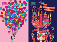 Childlike, but Never Childish: the Colorful Illustrations of Lesley Barnes | AIGA Eye on Design