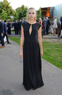At the Serpentine Gallery Summer Party.   - ELLE.com