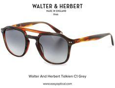 Walter and Herbert Tolkien Tolkien, England, Sunglasses, Grey, Gray, Sunnies, Shades, English, British