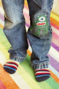 Mike Wazowski patch - Cazadora de inspiración © Anna Tykhonova