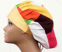 Surgical Scrub Hat Scrub Cap Bouffant scrub hats by PerfectlyNee
