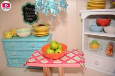 DIY Doll House: Find tips and tricks for creating American Girl-sized rooms and items for your child's 18-inch dolls.