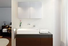 Muro 70 Kosmetik Box, Aluminium, Vanity, Bathroom, Walls, Bathing, Dressing Tables, Washroom, Powder Room