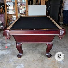 Connelly Cochise Ready For Disassemble For Home Remodel In Shady - Connelly pool table disassembly