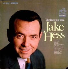 Jake was a pioneer in the field of southern gospel music. Watch him on the Gaithers; that is some wig. Sorry, but it is!