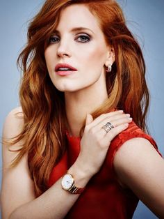 Piaget & Jessica Chastain