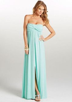 Elena Twist Tube Maxi Dress Extended Length - Yayyy it will be long enough for me! Alloy.com