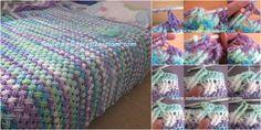 Crochê afegãos e cobertores do bebê                              …                                                                                                                                                                                 Mais                                                                                                                                                                                 Mais