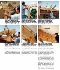 Porch Pergola Plans - Outdoor Plans