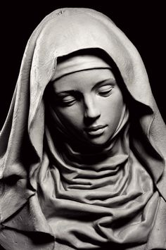 Gertrude PCF Studios - Sculpture - Print the sulpture yourself - Stone Sculptures Full Figure Portrait Sculpting by Philippe Faraut Religious Tattoos, Religious Art, Religious Studies, Art Sculpture, Stone Sculptures, Madonna, Sculpting, Sketches, Fine Art