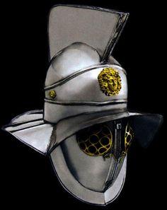 Helmet Roman Thracian Gladiator | Thracian Roman Gladiator Helmet