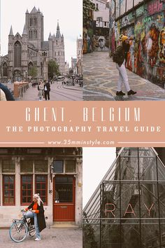 This Travel Photography Guide of Ghent in Belgium is the ultimate guide to explore the beautiful and historic Ghent, Gent or Gand in Belgium. Photography Guide, Travel Photography, Literary Travel, Ghent Belgium, Dark House, One Day Trip, Travel Reviews, Ultimate Travel, Culture Travel