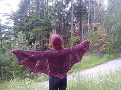 Dragon wings. Not a free pattern.