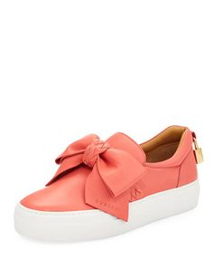 Bow Platform Skate Sneaker by Buscemi at Neiman Marcus.