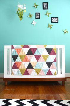 leonora triangle blanket