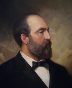Garfield, James A - Portrait by Ole Peter Hansen Balling Presidential Portraits, Presidential History, Us History, American History, History Education, Teaching History, History Facts, Washington Dc, 20th President
